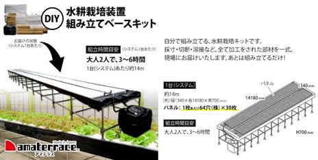 DIY水耕栽培装置組み立てベースキット「アマテラス」